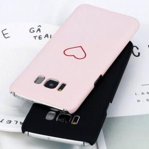 simple kawaii cute heart samsung galaxy case s7 s8 s9 note 8 feature 4